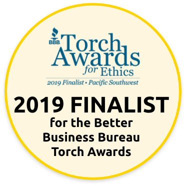 2019 Torch Awards for Ethics finalist